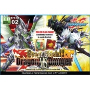 Buddyfight TCG Great Clash!! Dragon Vs Danger Vol.2 Extra Booster Box (15 Packs)