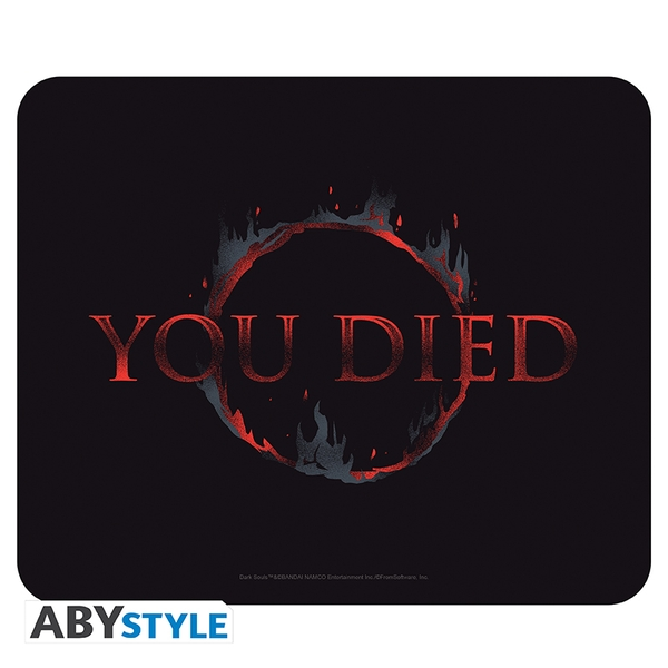 Dark Souls - You Died Flexible Mousepad