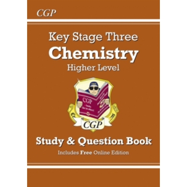KS3 Chemistry Study & Question Book - Higher by CGP Books (Paperback, 2014)