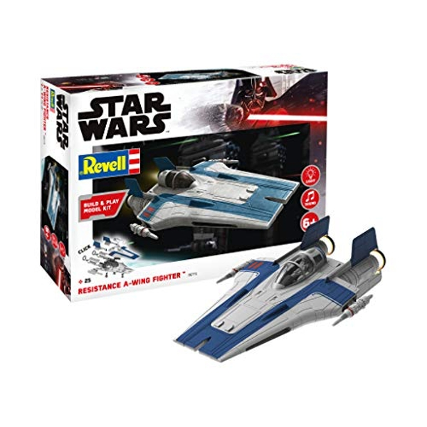 Resistance A-Wing Fighter Blue (Build & Play) Revell Model Kit