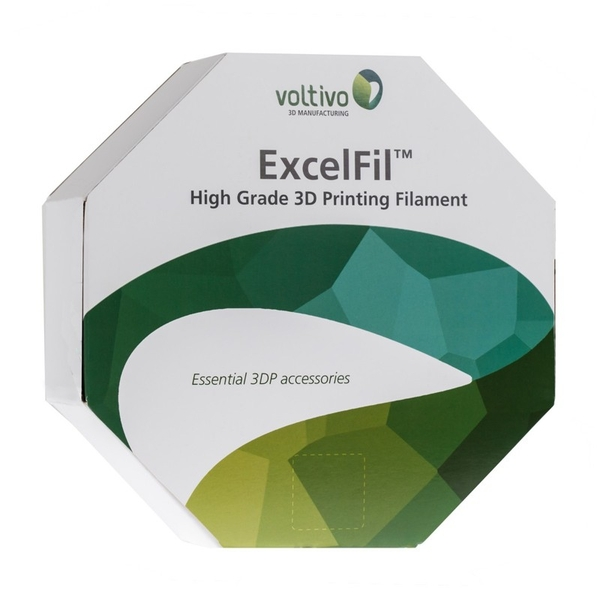 Voltivo ExcelFil  High grade 3D Printing Filament - ABS - 3mm - Grey