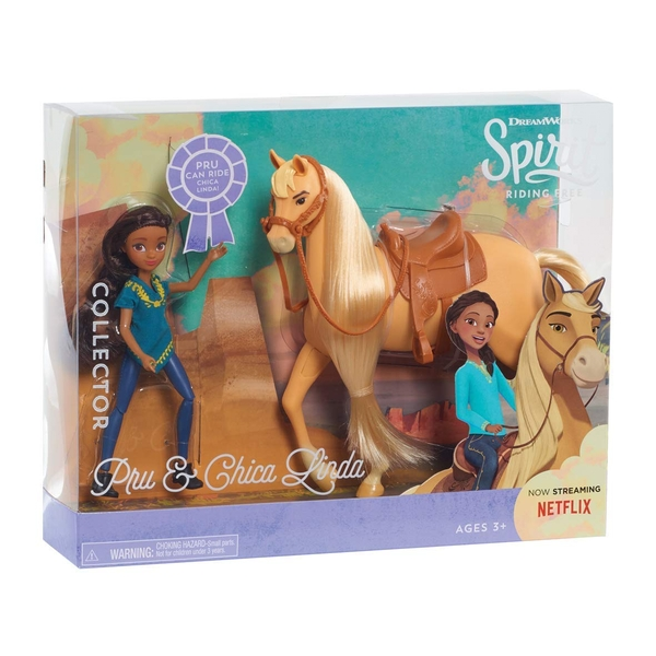 Spirit Small Doll & Classic Horse - Prudence and Chica Linda