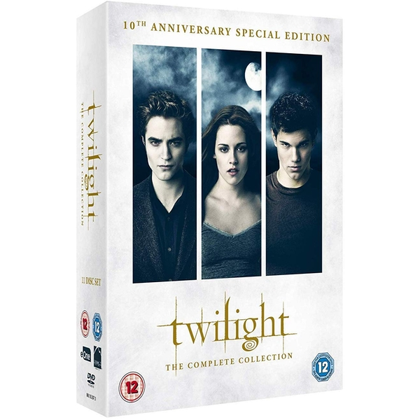 The Twilight Saga - The Complete Collection: 10th Anniversary DVD