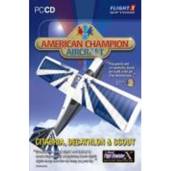 American Champion Aircraft Flight Simulator X  2004 Add On Game PC