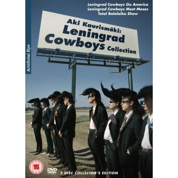 Aki Kaurismaki Leningrad Cowboys Collection DVD