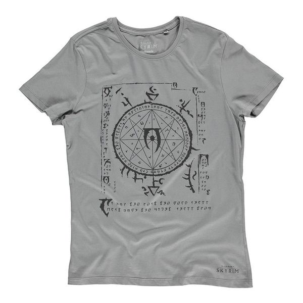 The Elder Scrolls - Mysterium Xarxes Men's Small T-Shirt - Grey