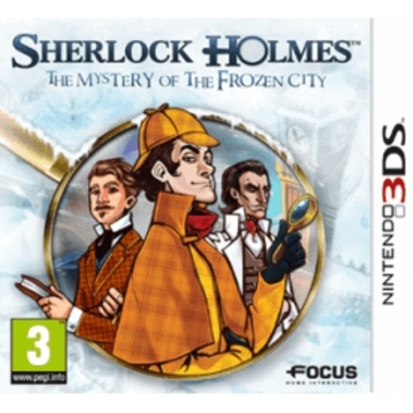 Sherlock Holmes and the Mystery of the Frozen City Game 3DS
