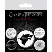 Game of Thrones - Winter is Coming Badge Pack