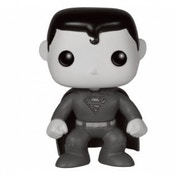 Ex-Display Black & White Superman (DC Heroes) Limited Edition Funko Pop! Vinyl Figure Used - Like New