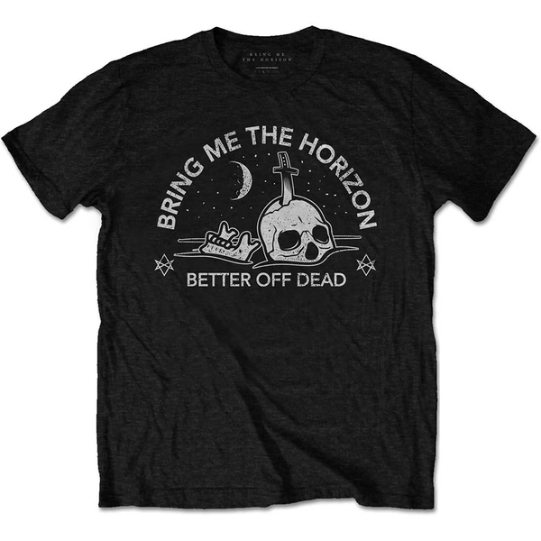 Bring Me The Horizon - Happy Song Men's Large T-Shirt - Black