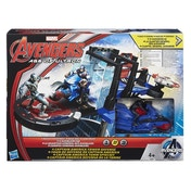 Avengers Age Of Ultron 2.5 inch Movie Action Set Captain America Tower Defence