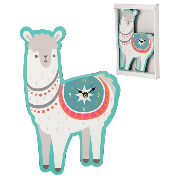 Llama Shaped Wall Clock