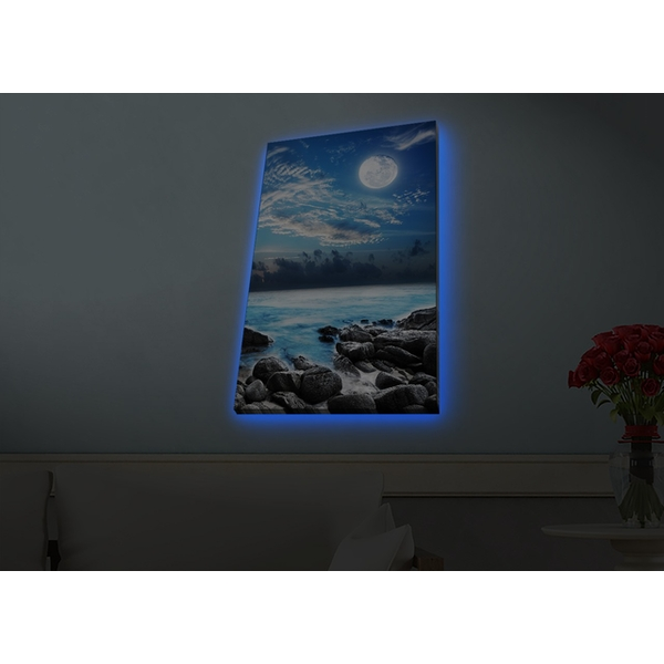 4570HDACT-099 Multicolor Decorative Led Lighted Canvas Painting