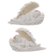 Rose Cherub Sleeping (Pack Of 6) Figurine