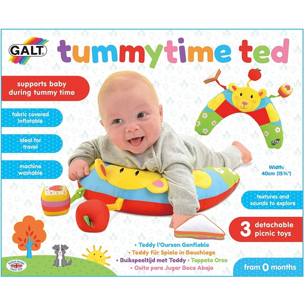 Tummytime Ted Pillow First Years Toy