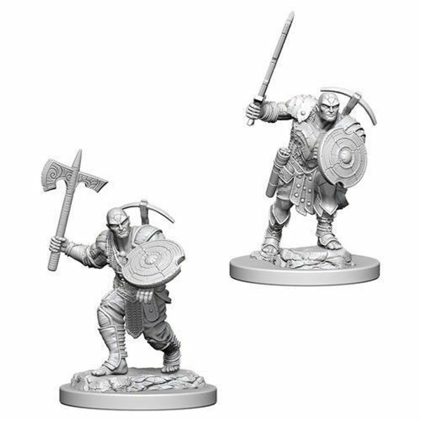 Dungeons & Dragons Nolzur's Marvelous Unpainted Miniatures Earth Genasi Male Fighter