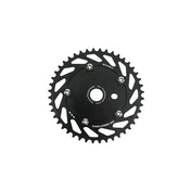 Haro Unidirectional Chainring 44 Teeth Black