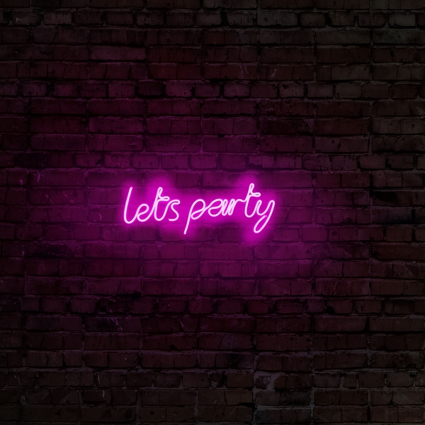 Lets Party - Pink Pink Wall Lamp