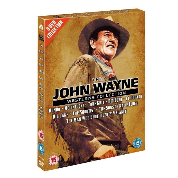 The John Wayne Westerns Collection DVD
