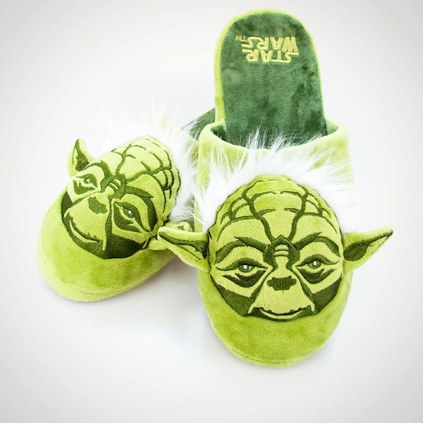 Yoda Star Wars Slippers Adult Large UK Size 8-10