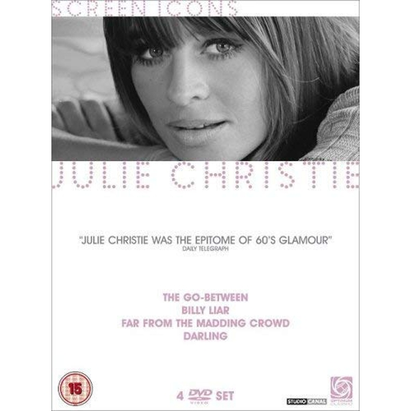 Julie Christie - Screen Icons DVD 4-Disc Set Box Set