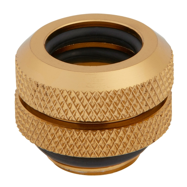 Image of Corsair Hydro X Series XF Hardline 14mm Gold Fittings - Four Pack (CX-9052009-WW)
