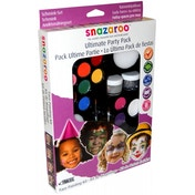 Snazaroo Palette Kit The Ultimate Party Pack Face Painting Kit