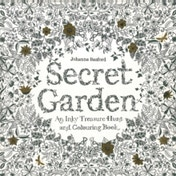 Secret Garden: An Inky Treasure Hunt and Colouring Book by Johanna Basford (Paperback, 2013)