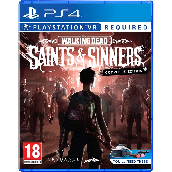 The Walking Dead Saints & Sinners Complete Edition PS4 Game (PSVR Required)