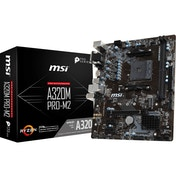 MSI Motherboard AMD AM4 A320 PRO-M2 D4 M-ATX