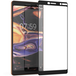 Nokia 7 Plus Glass Screen Protector (Single) - Black Edge - Image 2