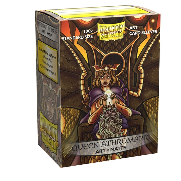 Dragon Shield - Queen Athromark: Portrait Classic Art Sleeves - 100 Sleeves