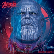 Avengers: Infinity War - Thanos cubic Head Canvas