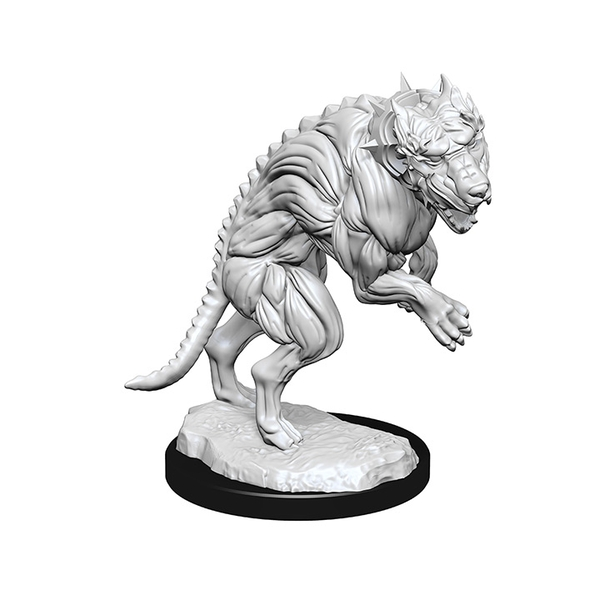 Pathfinder Deep Cuts Unpainted Miniatures Hell Hounds