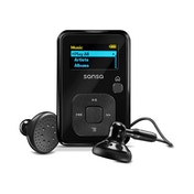 SanDisk Sansa Clip+ 4GB MP3 Player with Radio and MicroSD/SDHC Slot Black