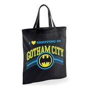 Batman - Shopping In Gotham Bag - Black