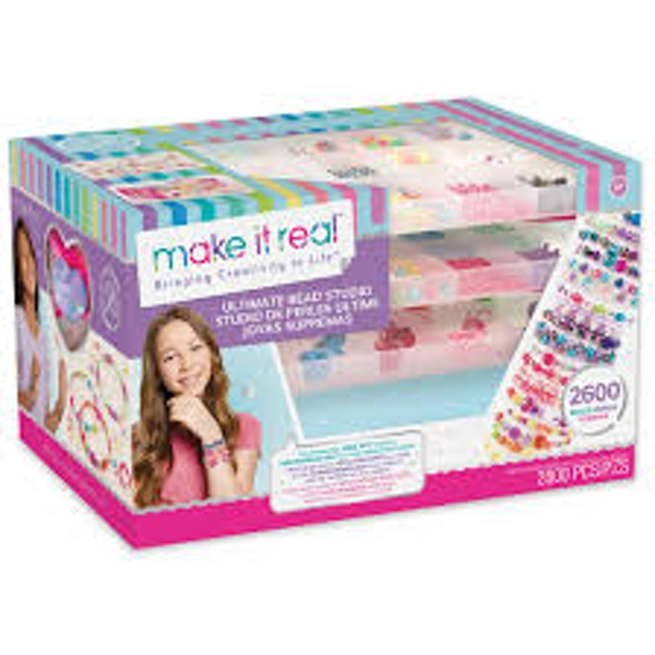 Make It Real - Ultimate Jewellery Station Deluxe Beads Set
