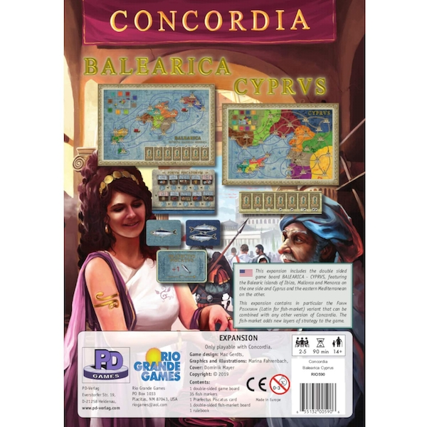 Balearica Cyprus: Concordia Expansion