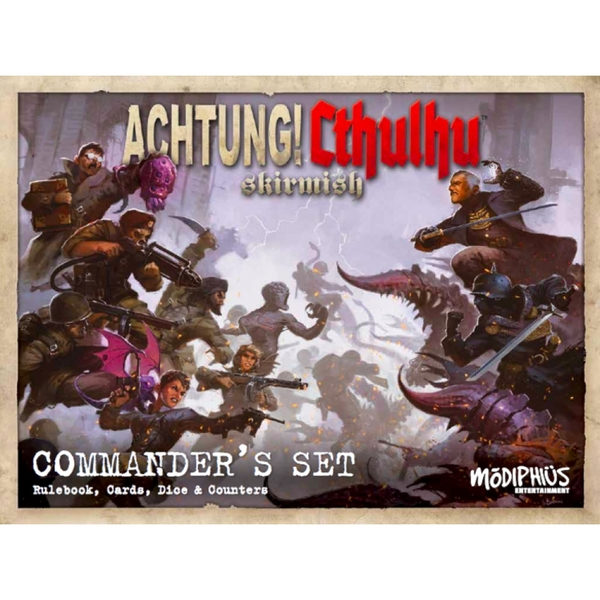 Achtung! Cthulhu Skirmish Commander's Set Board Game