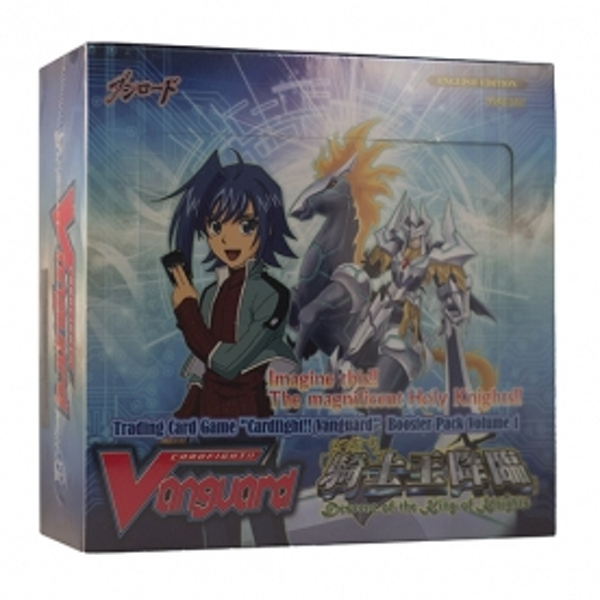Cardfight Vanguard TCG Descent of the Kings of Knights BT01 Booster Box (30 Packs)