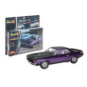 Plymouth AAR Cuda 1970 1:25 Scale Level 4 Revell Model Set