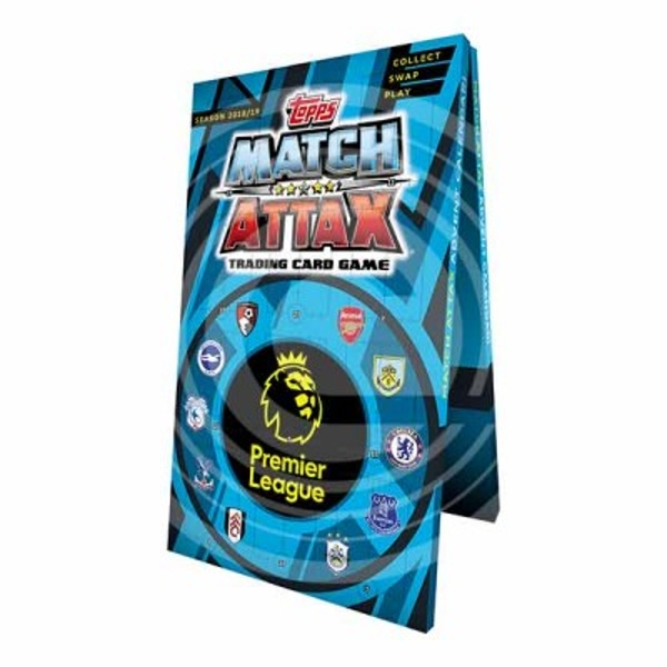 Match Attax Weihnachtskalender.Epl Match Attax 2018 19 Advent Calendar