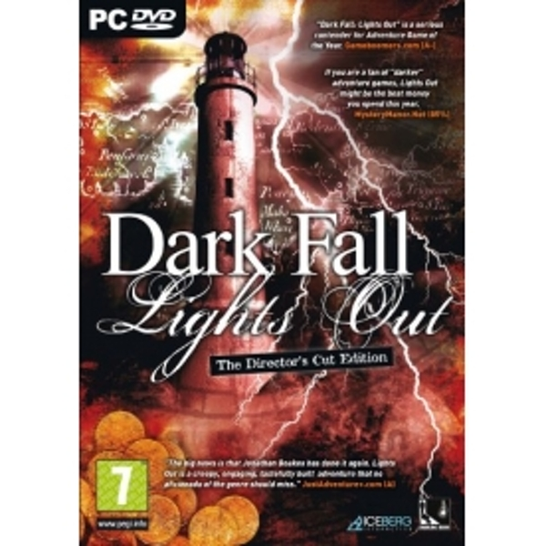 Dark Fall Lights Out The Director's Cut Edition Game PC