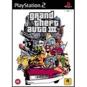 Grand Theft Auto GTA III 3 Game PS2