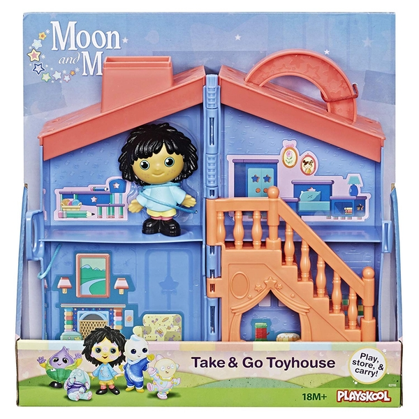 Moon & Me On The Go Take & Go Toyhouse