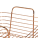 Rose Gold Metal Storage Basket | M&W Set of 2 - Image 6