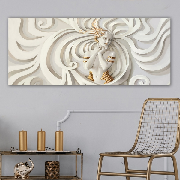 YTY161585909_50120 Multicolor Decorative Canvas Painting