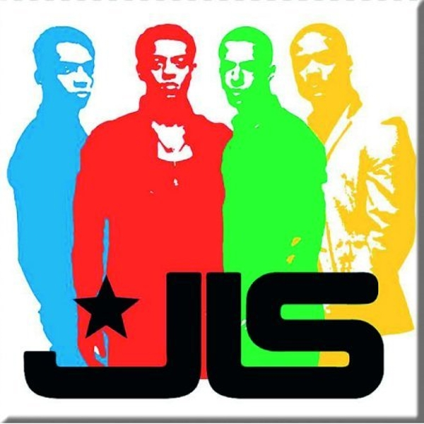 JLS - Band Silhouette Fridge Magnet