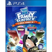 Hasbro Family Fun Pack (Monopoly, Boggle, Trivial Pursuit and Risk) PS4 Game (#)