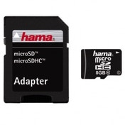 Hama Micro SDHC 8GB Class 10 with Adapter 00108087
